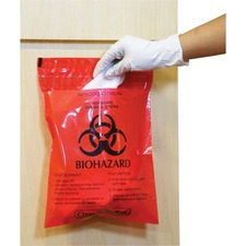 Stick-On Biohazard
